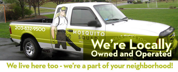 Mosquito Squad of Asheville is locally owned and operated bug exterminator