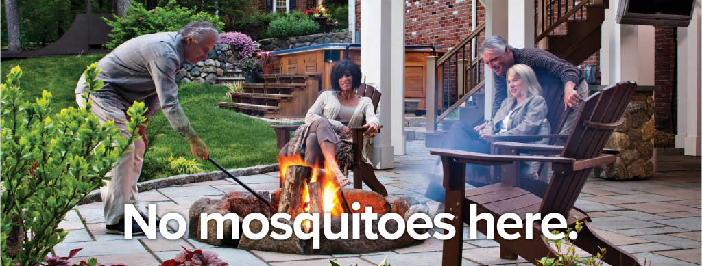 family enjoying the outdoors; mosquito protection; pest control