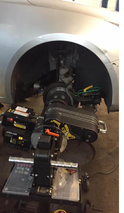 Rotor Resurfacing at Motor City Garage in Hackettstown NJ