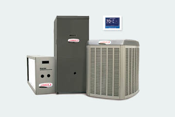 Lennox HVAC products including heaters and ac units