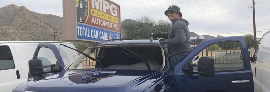 MPG Auto Glass in Tucson & Casa Grande, AZ banner