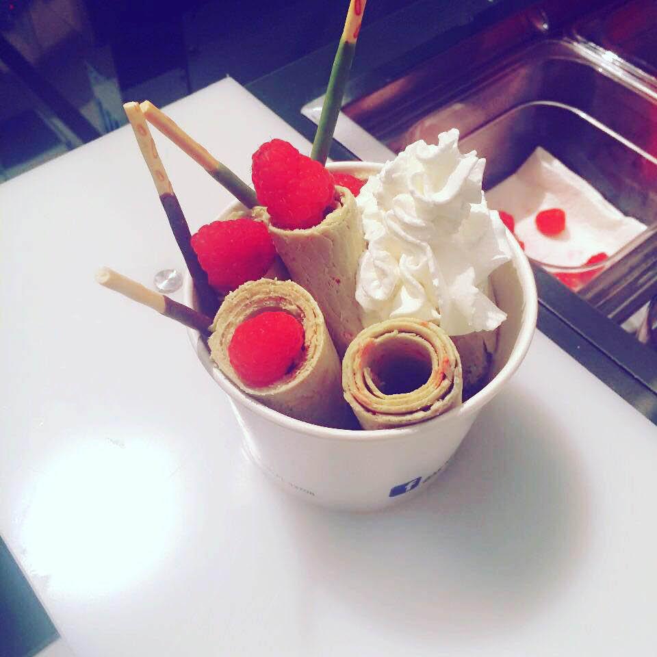 Thai Ice creams Thai ice fried thai ice cream fried Thai