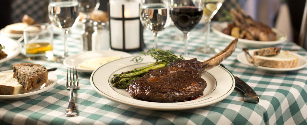 Mr. B's Steakhouse and Bacchus serves great steak and prime rib in Milwaukee and Brookfield, WI.