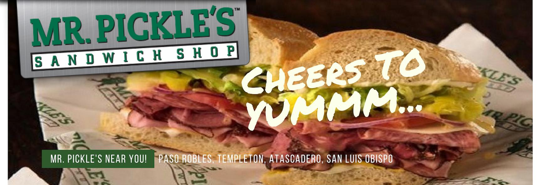 Mr. Pickle's Sandwich Shop in San Luis Obispo, CA banner