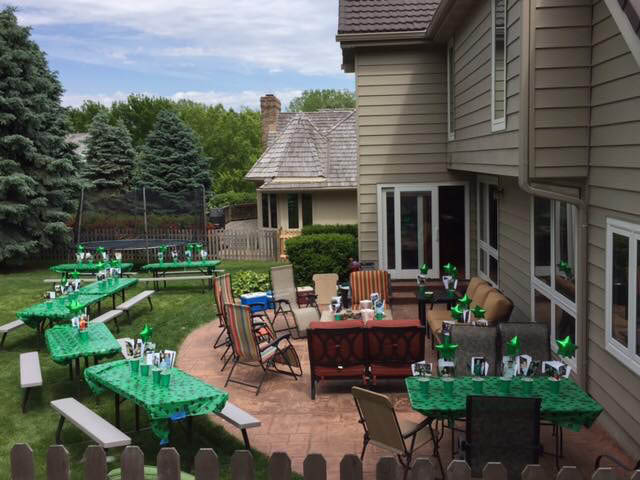 deck seating; event furniture rental; event set up in Omaha, NE