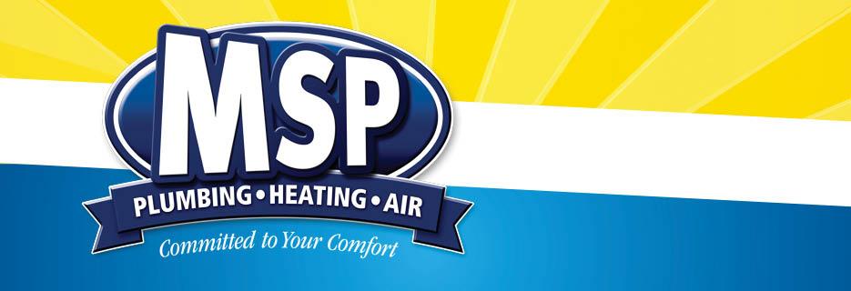 MSP Plumbing Heating Air banner
