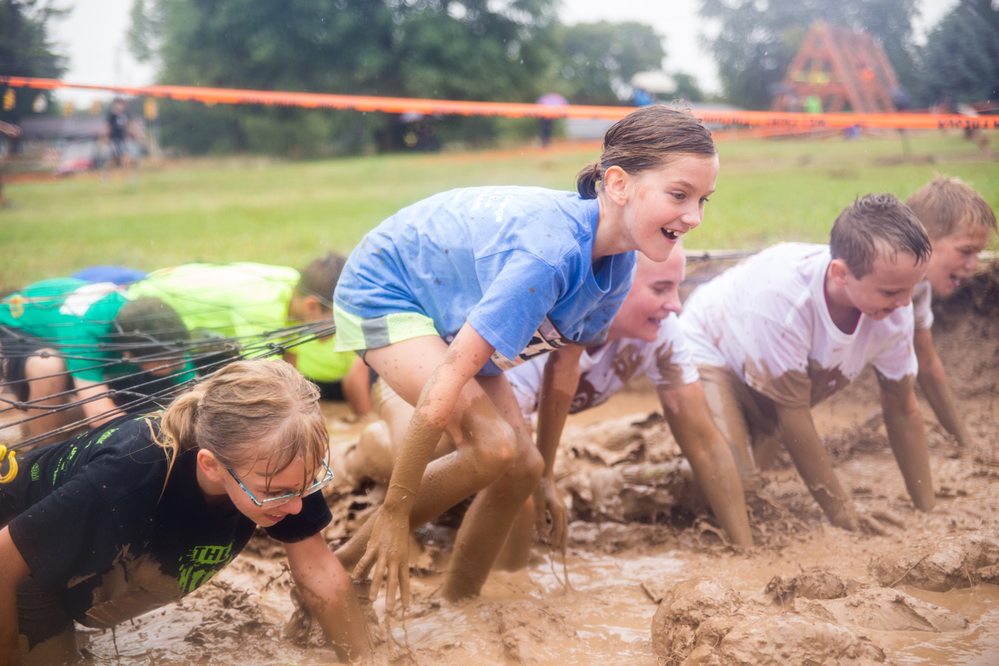 mini mud run kids