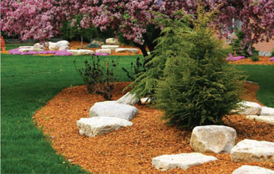 Protect and beautify your lawn, shrubs and trees with the proper mulch product from The Mulch Center