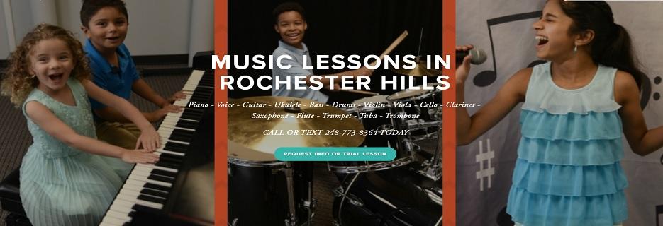 Rochester Hills Expressions Music Academy MI banner