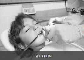Patient receiving sedation for her procedure