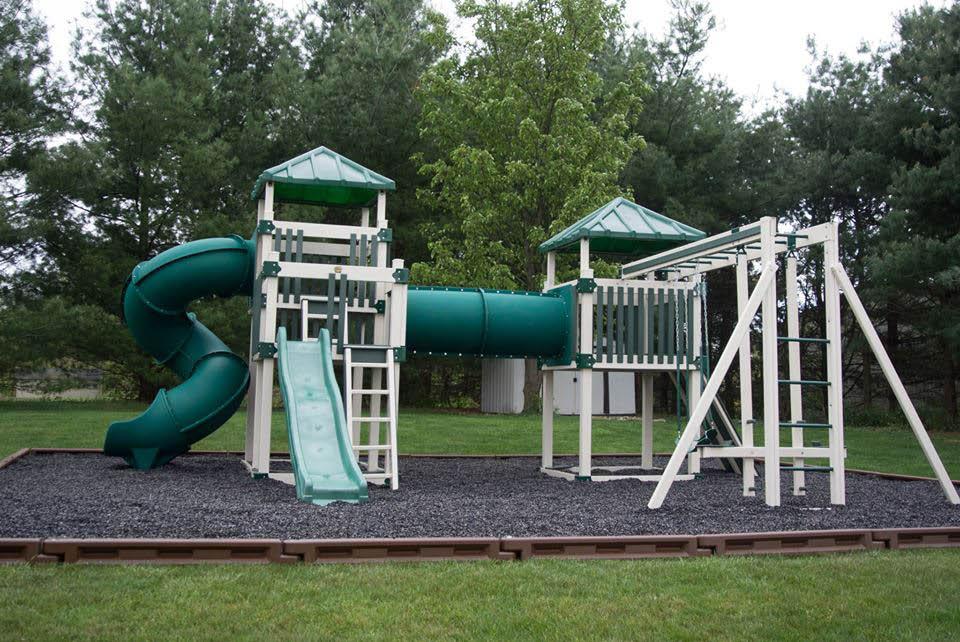 Children's play sets and playground equipment