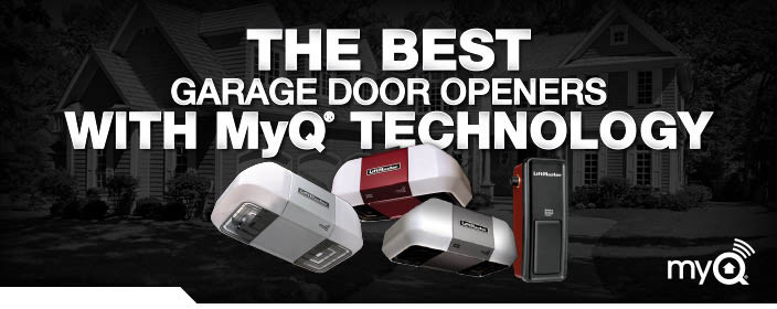 LiftMaster garage door opener installed by A-Authentic Garage Door Service Tucson, AZ