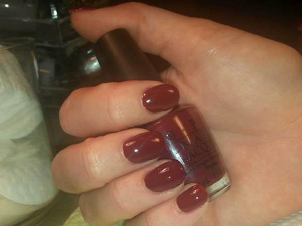 Jacqueline Shiells expert manicure