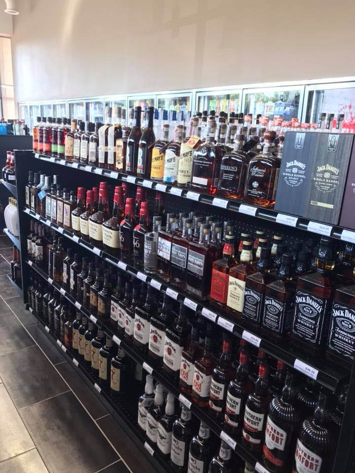 Picture of Nall Valley Wine & Spirits' whiskey & bourbon selection