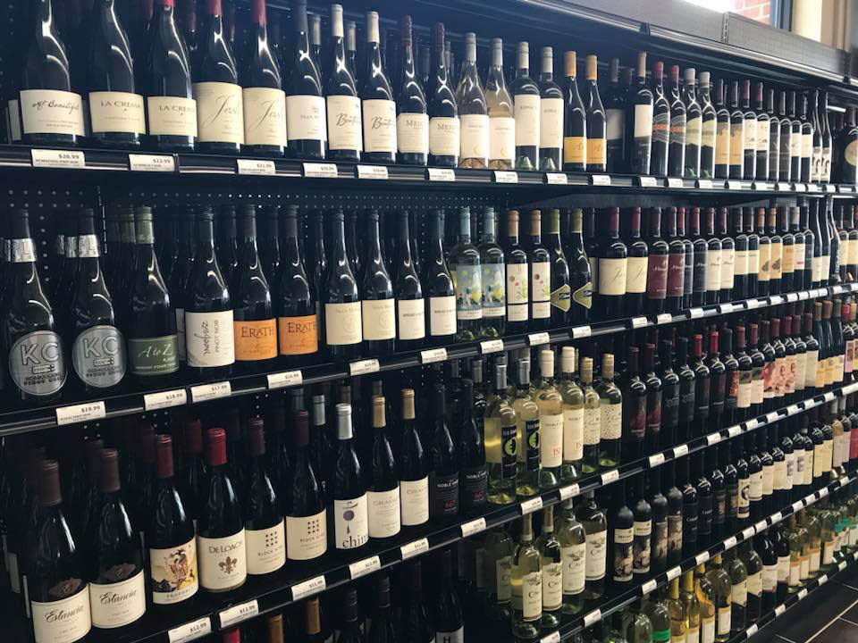 Picture of Nall Valley Wine & Spirits Wine selection