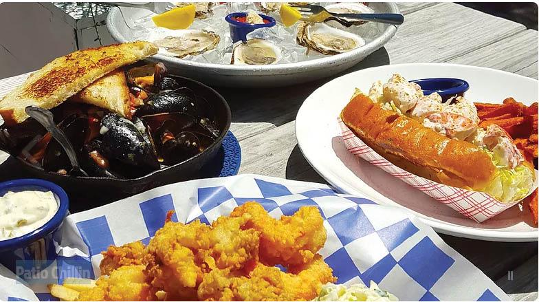 NANTUCKET'S REEF in Rockville MD, seafood