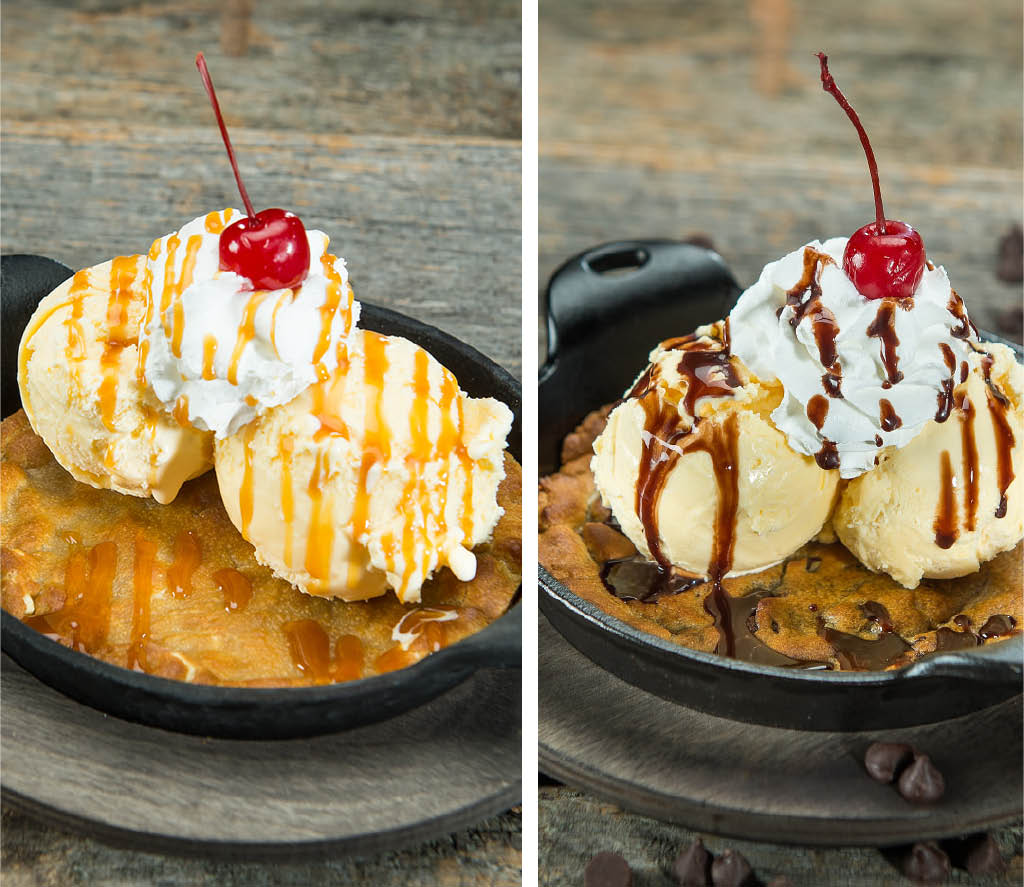 Decadent desserts and sweet treats