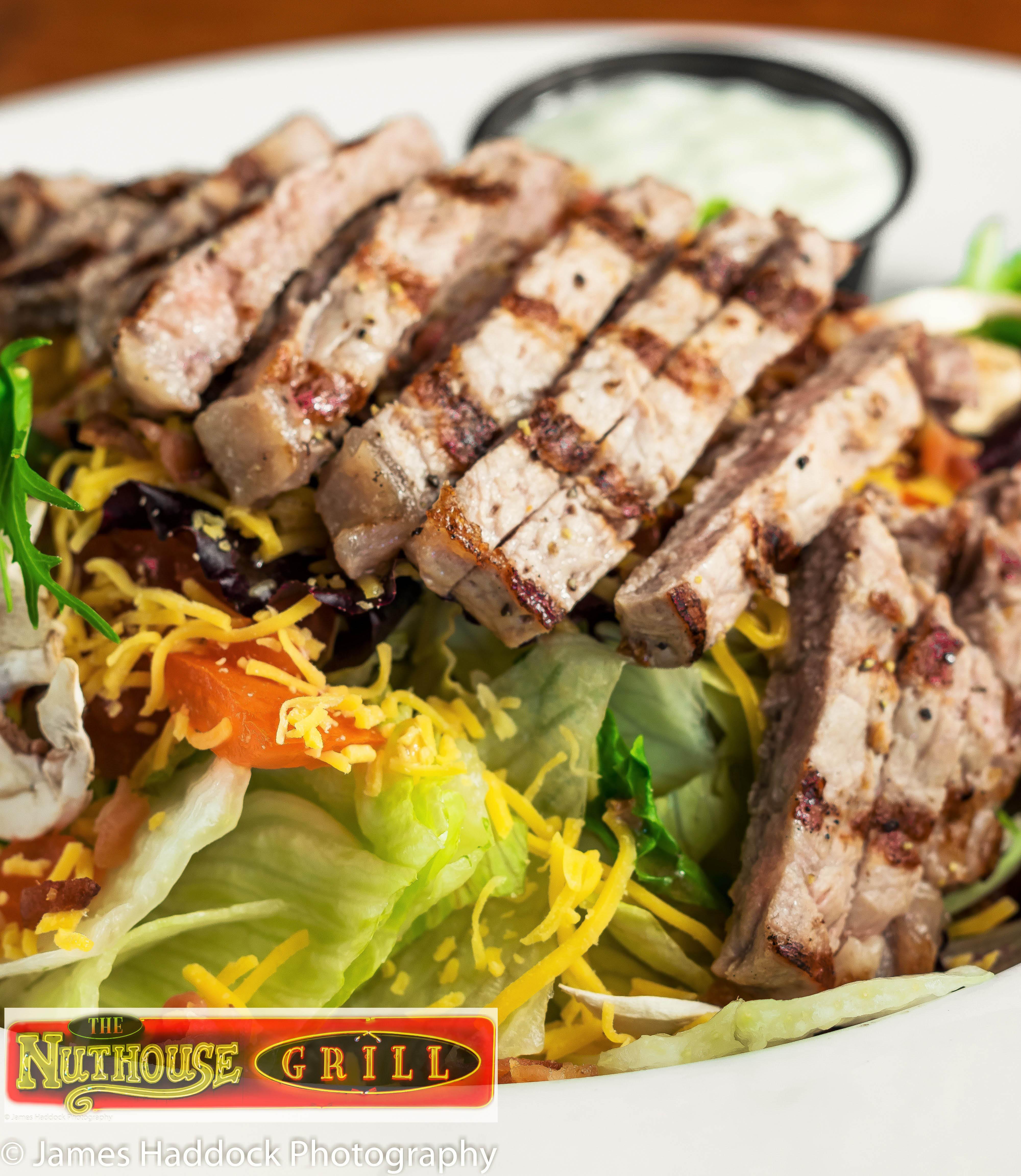 Nuthouse Grill Lynden prime rib steak chicken salads sunday brunch