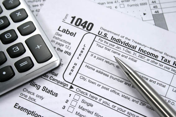 We prepare 1040 forms and 1040EZ tax forms