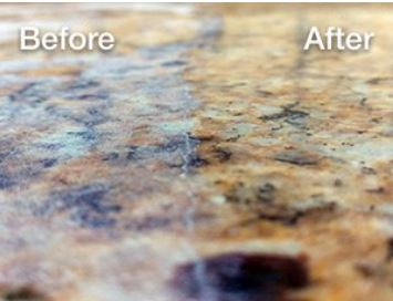 Let us renew your granite countertops.