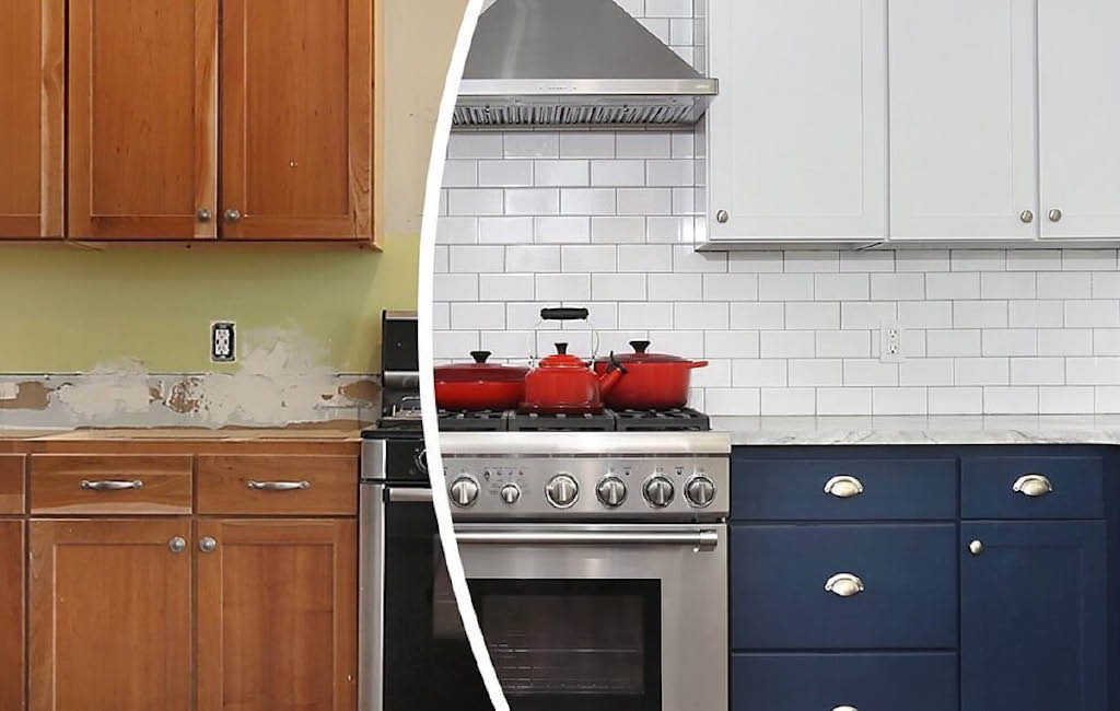 kitchen cabinet painting, redo kitchen cabinets, refinish kitchen cabinets, refinish wood floor