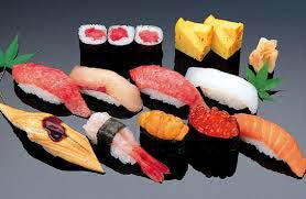 samples of sushi at Ninja Sushi in Arlington, TX
