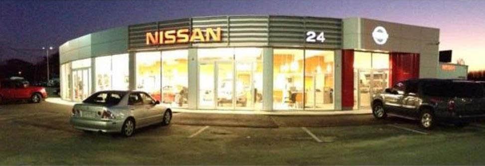 Nissan 24 Dealership.  Brockton, MA.  New and Used vehicles.