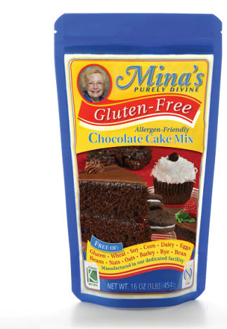 Mina's gluten-free mixes available for purchase