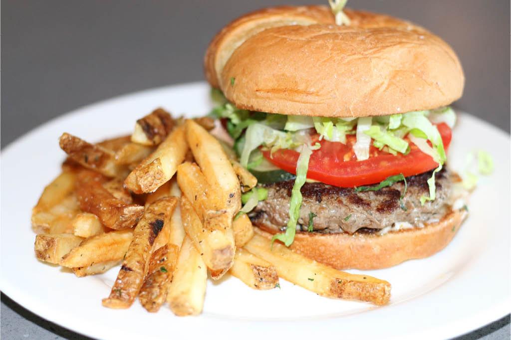 restaurant, burger, fries, bellingham