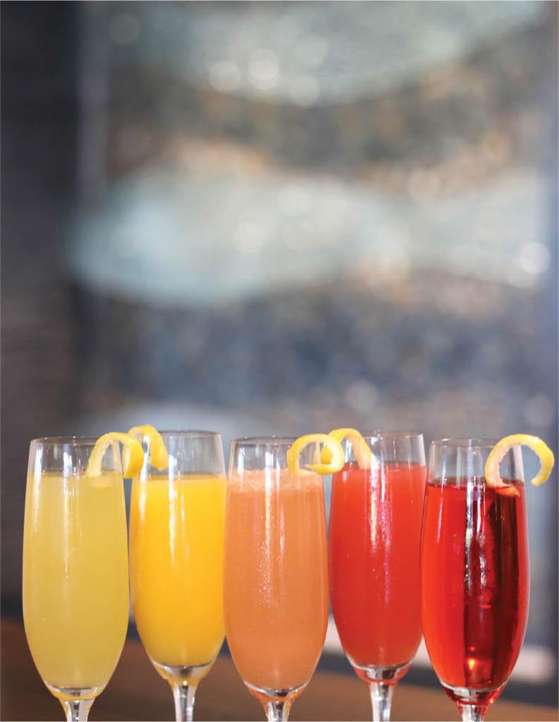 restaurant bottomless mimosas