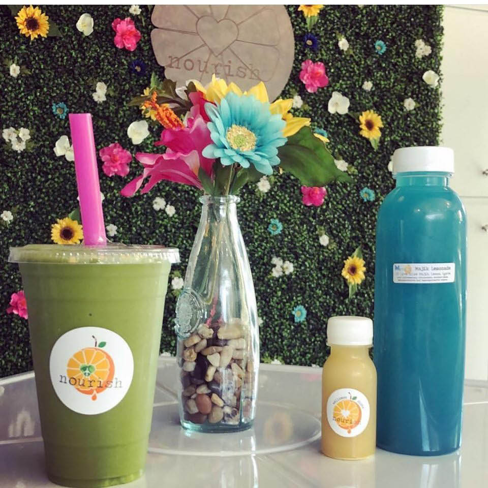 Nourish juice products; protein drinks for physical endurance