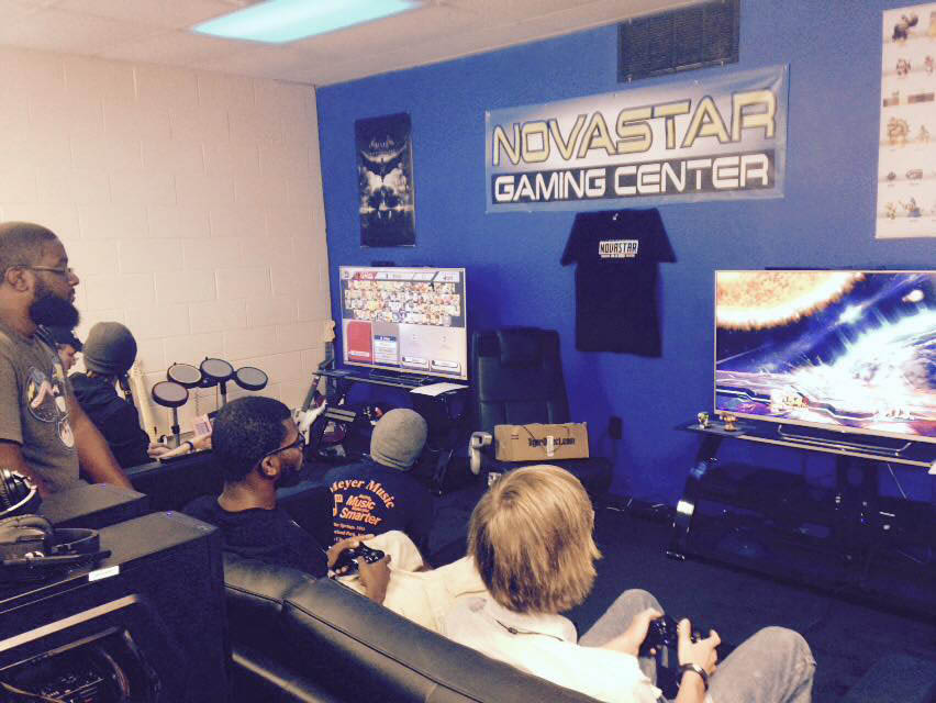 Novastar Gaming Center offers Console Gaming!