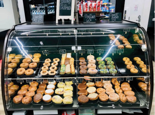 valley pastries donuts now mart gas & groceries new hope