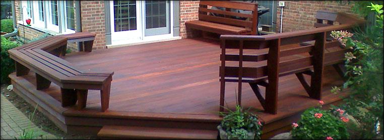 Deck refurbishment and refinishing