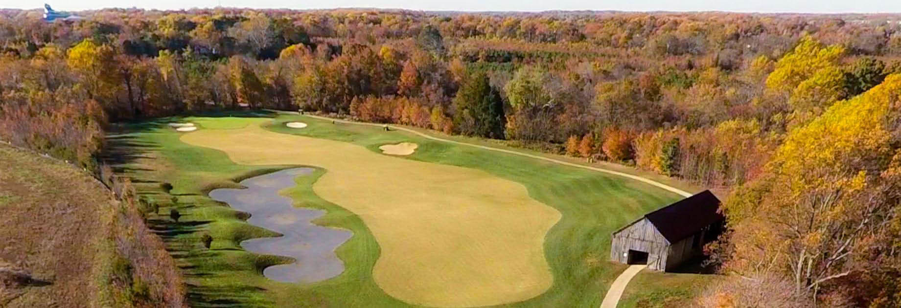 Oak Creek Golf Club is located in Upper Marlboro, Maryland
