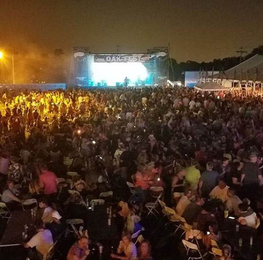 A variety of music acts are scheduled all weekend at OakFest.