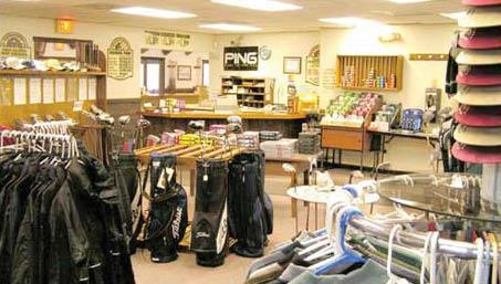 oakmont green golf course pro shop.