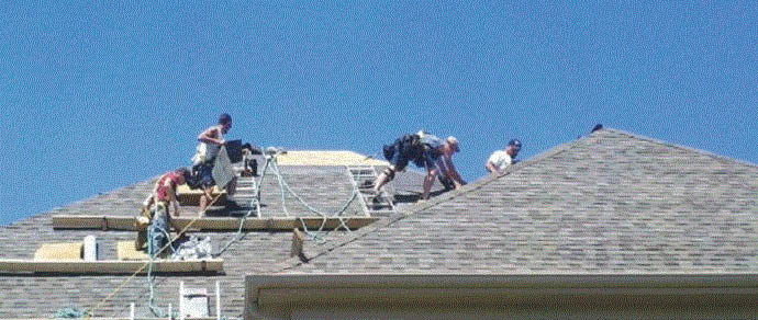 Roofers at Oak Roofing in Shelby Twp, MI