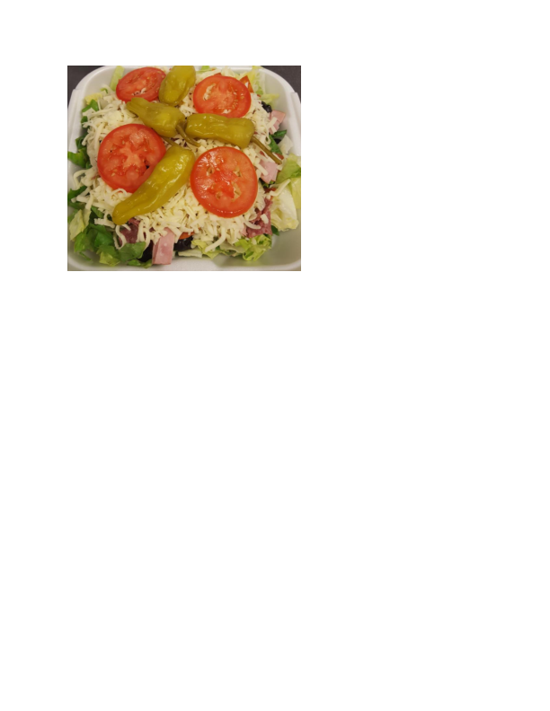 salads OC Pizza salads O.C. Pizza salads Restaurant coupon