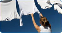 Dry Cleaning Hand Pressed Laundry, Tailoring, Drapery Cleaning & Alterations.