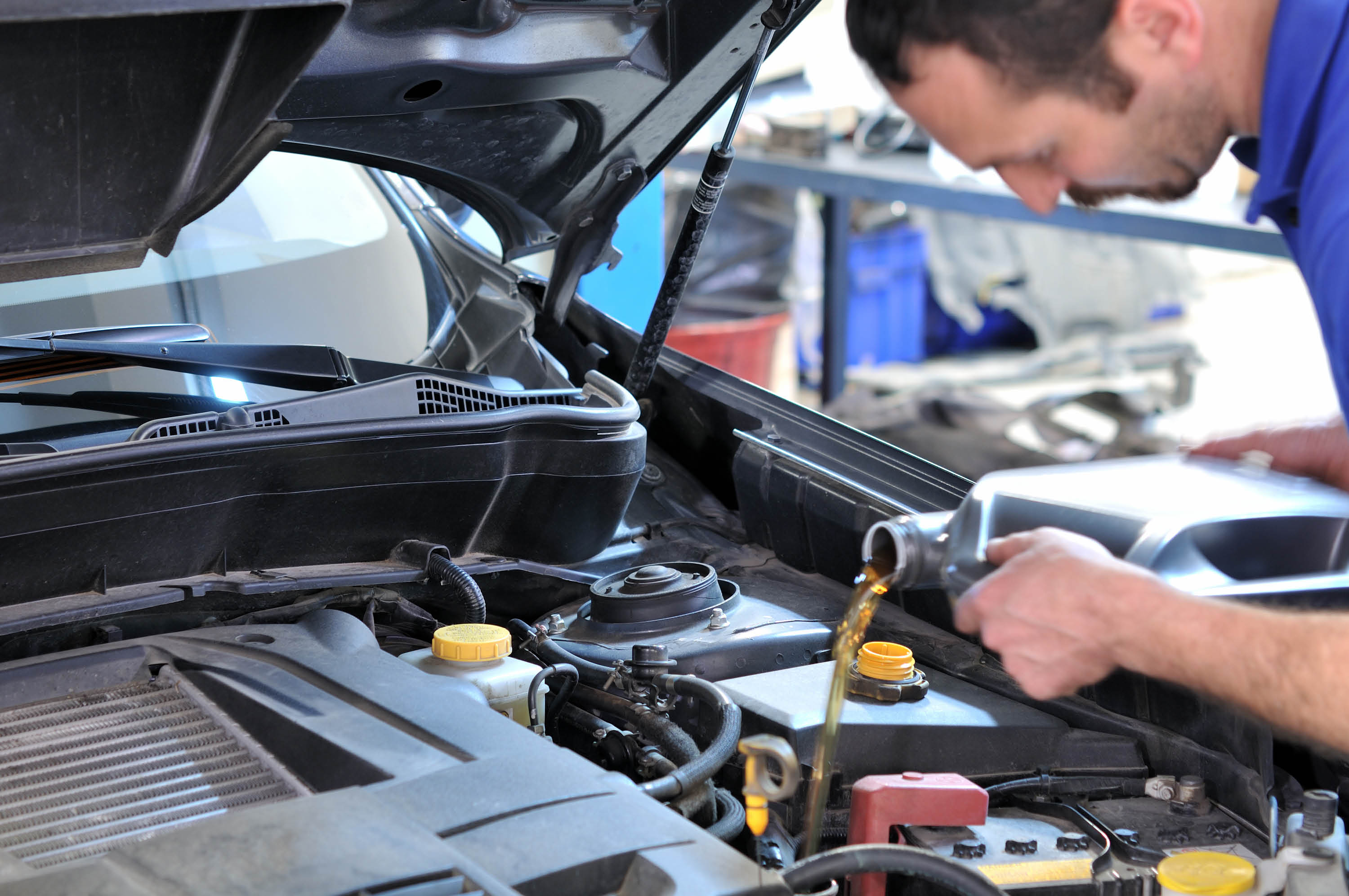 Oil-change, tune-up, engine and transmission repair, brake service, electrical service, computerized tire balance