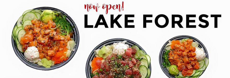 Oke Poke restaurant in lake forest, top rated restaurant