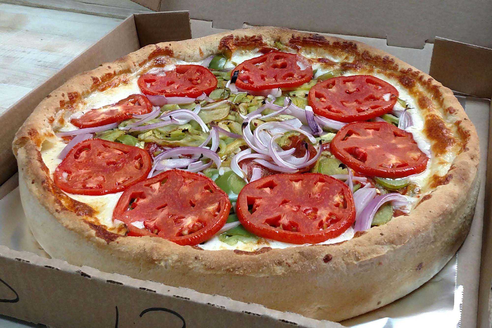 Homemade Chicago-Style Pizza in Petaluma CA