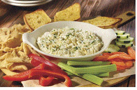Spinach Dip Appetizer at Old Chicago Pizza & Taproom in Southgate, MI
