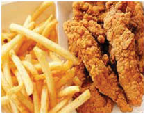 Chicken fries for delivery or dine in at Olive Oils Pizzeria Brookline PA, Bethel Park PA, Canonsburg PA & Washington PA