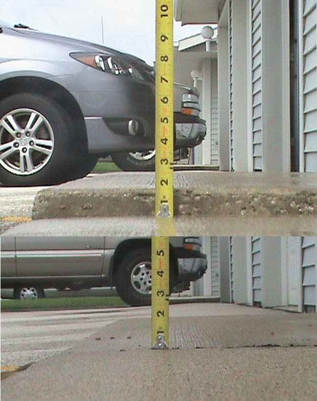 Omaha Mudjacking & Concrete Lifting Inc. can raise your uneven driveway