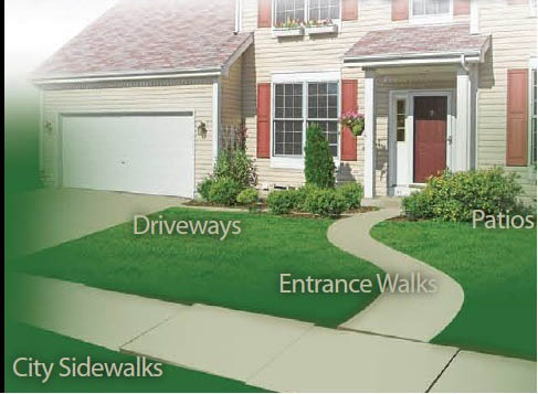 Lift uneven sidewalks and pathways with mudjacking in Omaha, NE
