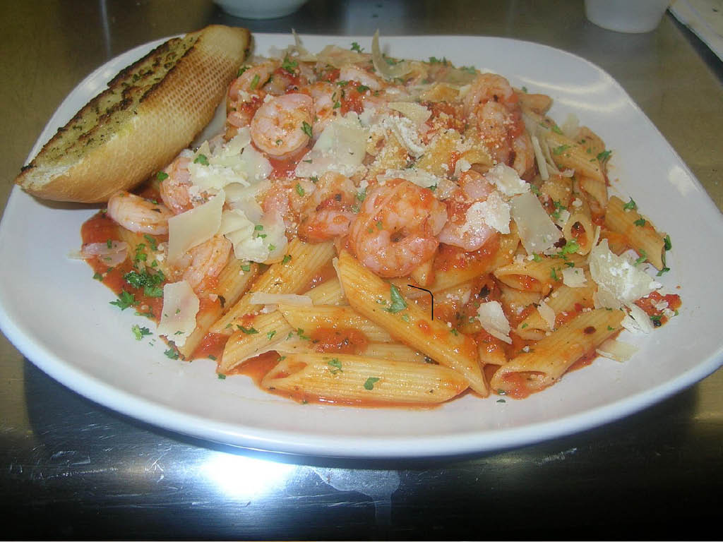 Omezzo Pasta Bowl 2 Go shrimp