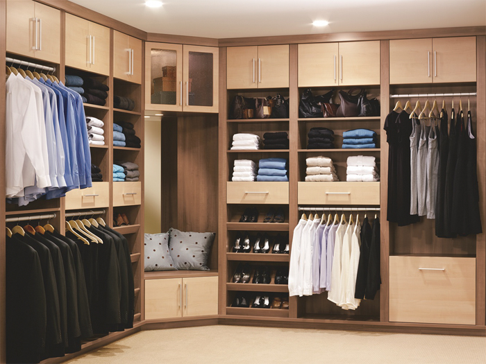 Interested in home improvement? Expand your closet.