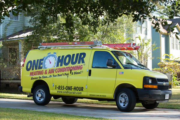 One Hour provides Mobile Professional Air & Heating Service!